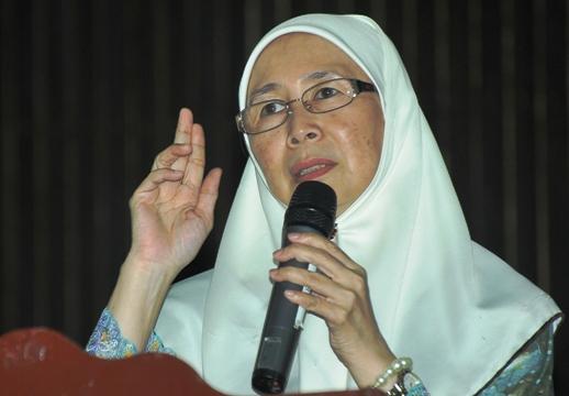 wan azizah kapar speech 01