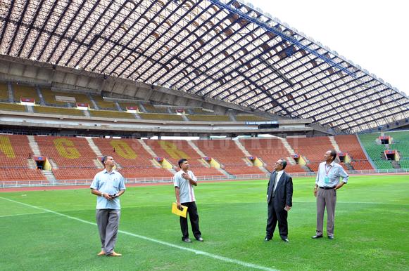 stadium shah alam di naik taraf 1