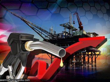 Harga minyak dunia catat kenaikan mingguan tertinggi