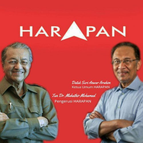 Image result for Mahathir partnership with Anwar Ibrahim